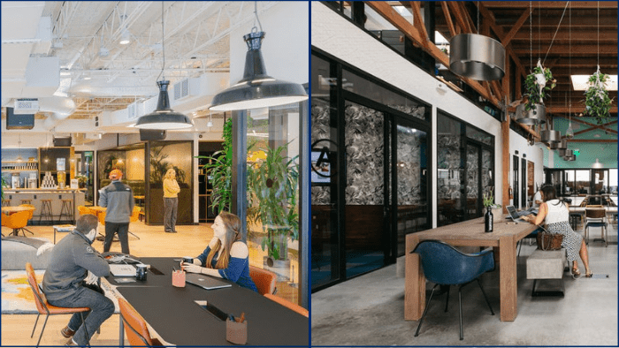 Coworking space for Wework in the USA