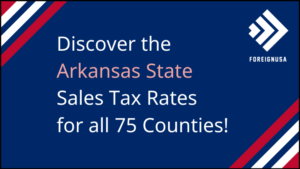 What is the Sales Tax in Arkansas?