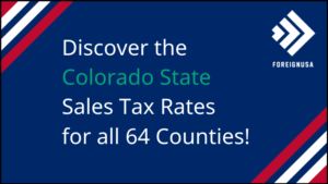 What is Colorado's Sales Tax
