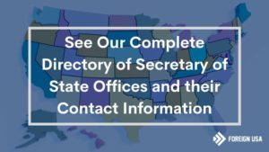 Full Directory of Secretary of State Office Websites