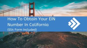 How to Get an EIN Number in California
