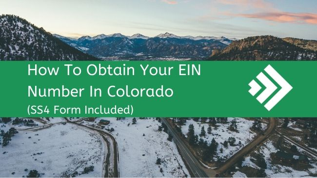 How to Get an EIN Number in Colorado