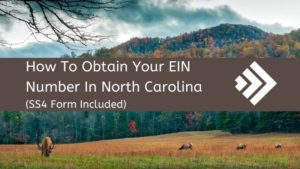 How to get an EIN Number in North Carolina