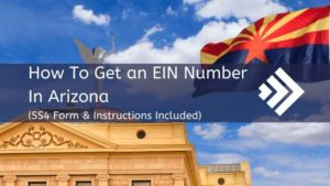 How to get an EIN Number in Arizona