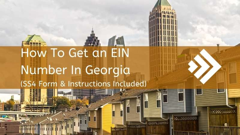 How to get an EIN number in Georgia
