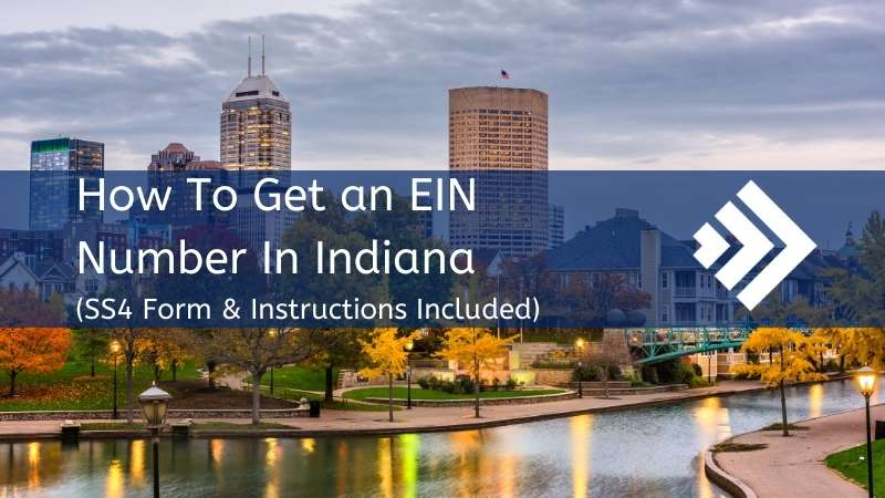How to get an EIN number in Indiana