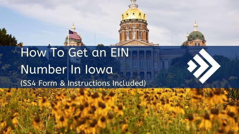 How to get an EIN number in Iowa