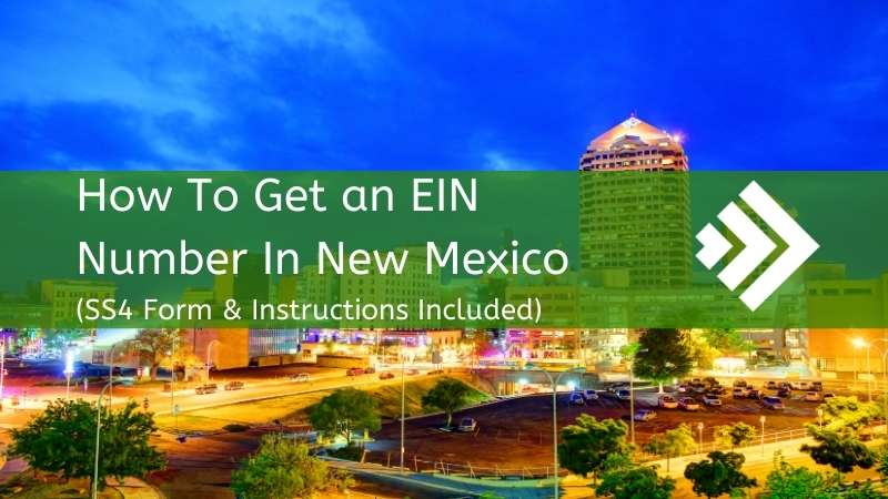 How to get an EIN number in New Mexico