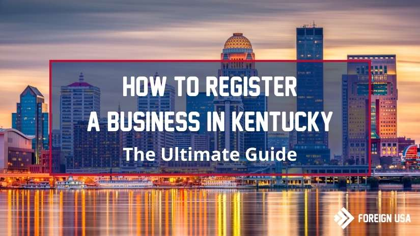 How to register a business in Kentucky