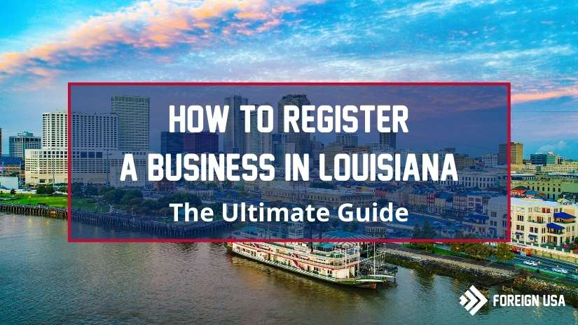 How to register a business in Louisiana