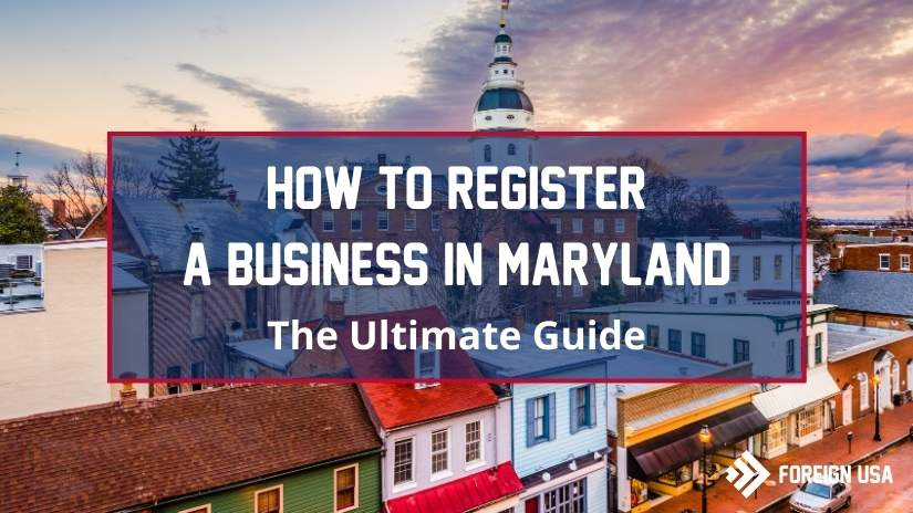 How to register a business in Maryland