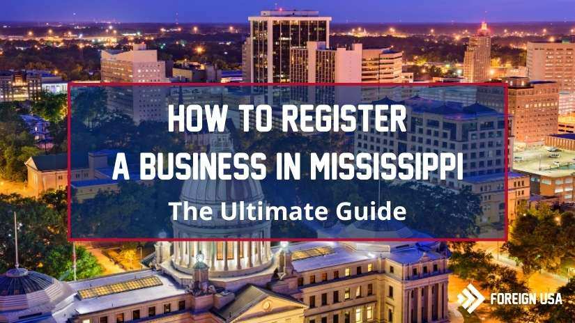 How to register a business in Mississippi
