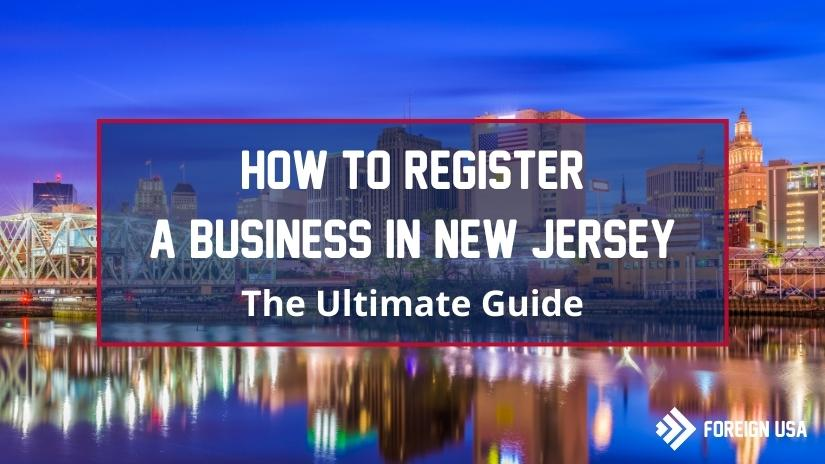 How to register a business in New Jersey