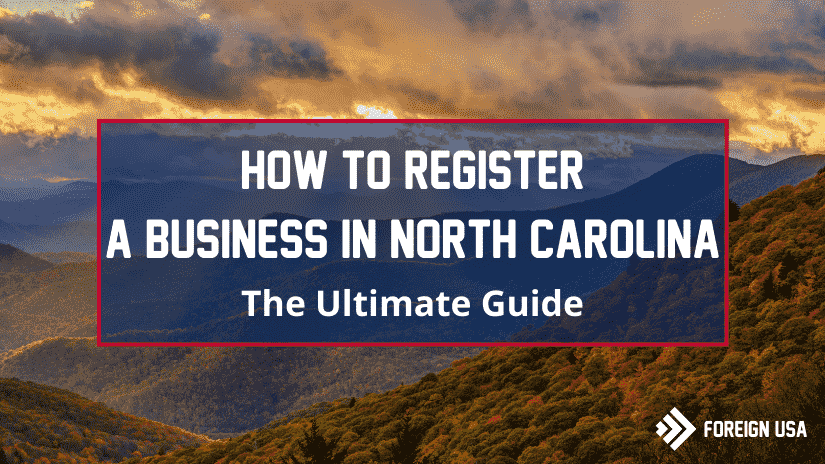 How to register a business in North Carolina