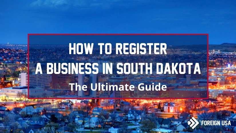 How to register a business in South Dakota