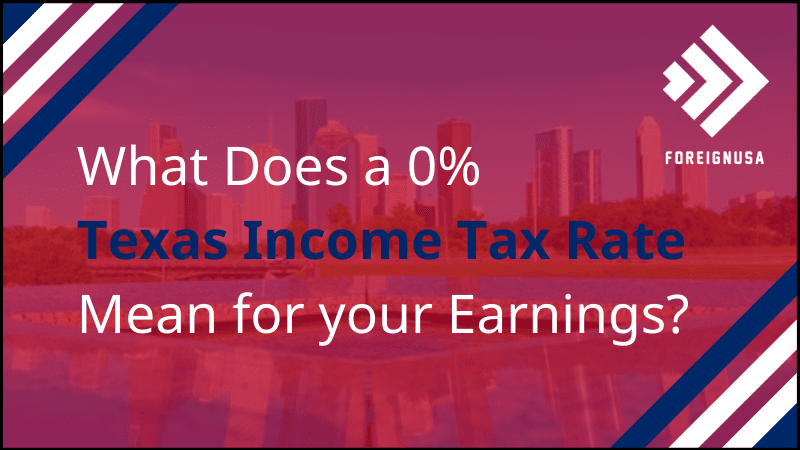 What is the Income Tax Rate for Texas