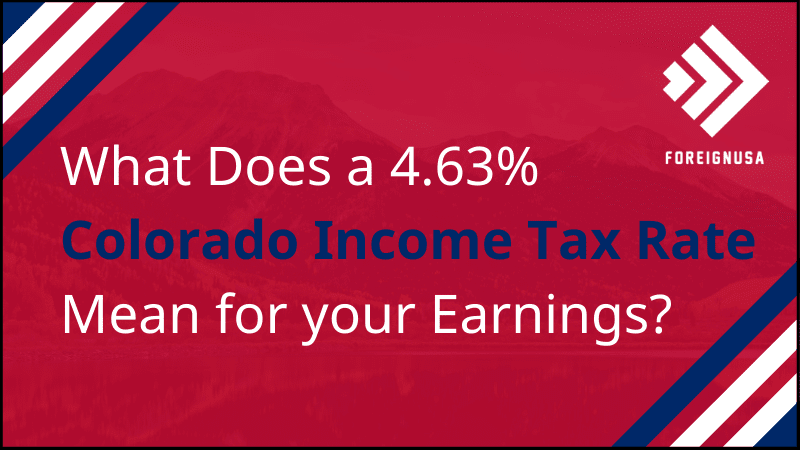 What is the income tax rate in Colorado