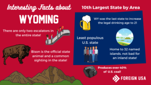 20 Fun Facts About Wyoming