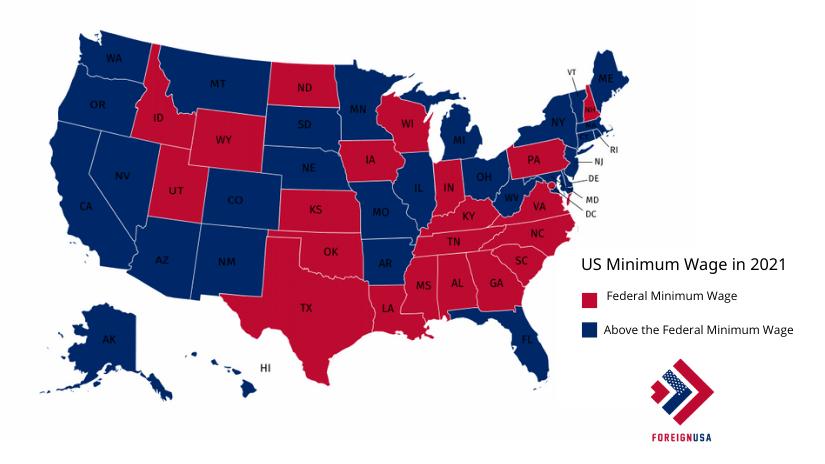 Minimum Wage in US States