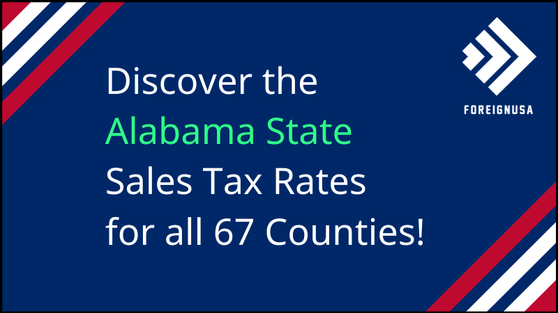 Sales tax in Alabama