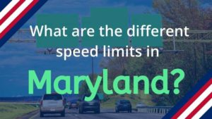 What is the Speed Limit in Maryland