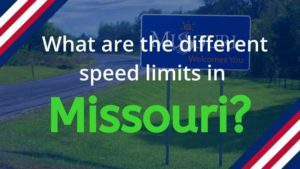 What is the Speed Limit in Missouri?