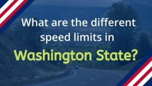 What is the Speed Limit in Washington State