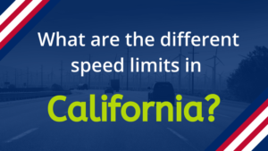 Speed Limits in California