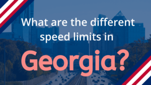 Speed Limits in Georgia