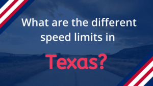 Speed Limits in Texas