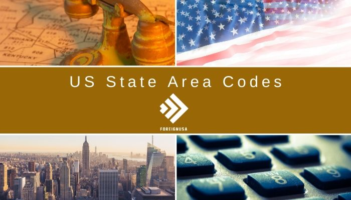 US State Area Codes