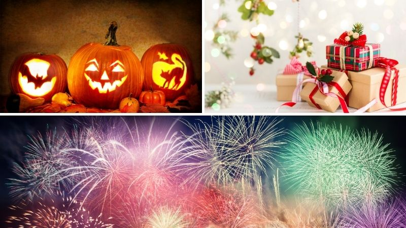 Most Popular Holidays in the US – 2021