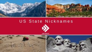 US State Nicknames