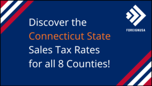 Connecticut Sales Tax Rate