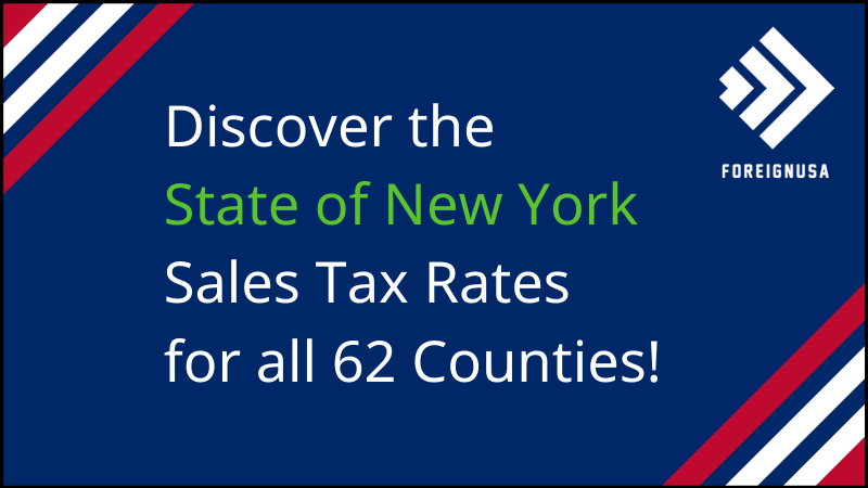 What is New York's Sales Tax