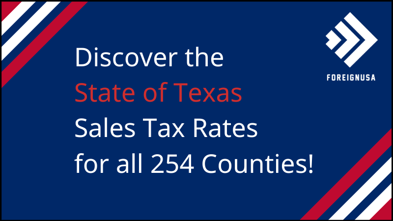 What is Texas' Sales Tax