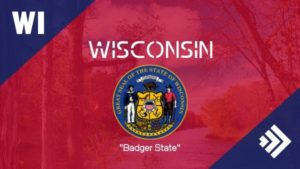 Abbreviation for Wisconsin